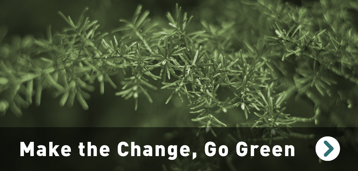 Make the Change – Go Green